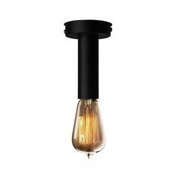 Світильник стельовий 100lamp Loft Е-27 метал, чорний (NL 1409)
