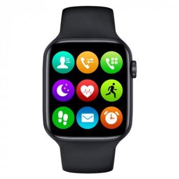 Смарт Годинник Smart Watch C500 c SIM + TF карта Фітнес браслет Голосовий виклик Фітнес трекер Black