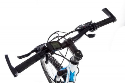 "Электровелосипед Kerambit 26"" 17"" 36V 10Ah 500W бело-голубой (EVKBG)"