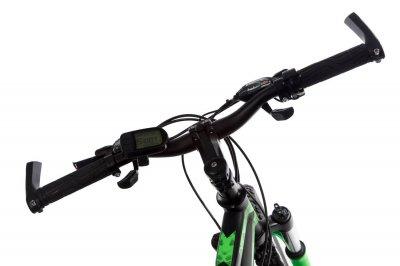 """Электровелосипед Kerambit 26"""" 17"""" 36V 14Ah 500W чёрно-зелёный (KECHZ)"""