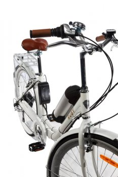 Электровелосипед женский Dorozhnik Ruby 36V 10Ah 500W белый (RUBYB)