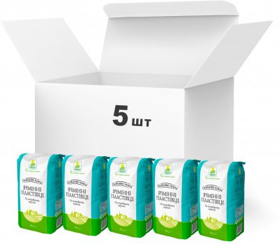 Упаковка хлопьев Терра Особо нежных ячменных быстрого приготовления 500 г х 5 шт (4820015737458)