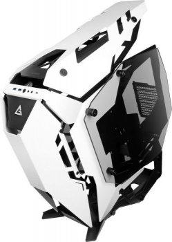 Корпус Antec TORQUE Aluminium Open-Frame,MidT,E-ATX, 2*USB3.0, USB3.1TypeC, скло(бік. пане.),білий