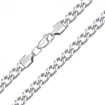 Браслет из серебра в плетении Ромб, 5 мм 000145099