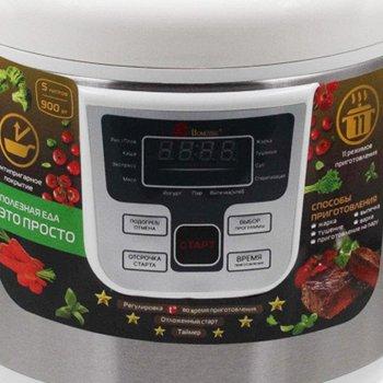 Мультиварка Domotec MS 7724 5 литров 11 программ, домашняя мультиварка.Не пригорает, используется тефлоновый слой покрытия емкости. Расходуется меньше масла, что очень важно в диетическом питании.