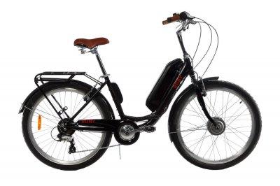 "Електровелосипед E-motion 48V 17,5 Ah 700W / алюмінієва рама 19"" чорно-синій (EVE4817570019BB)"