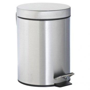 Відро для сміття SENSEA URBAN 3 л металеве матовий хром 10249561