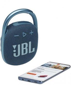 Портативная акустика JBL CLIP 4 BLU