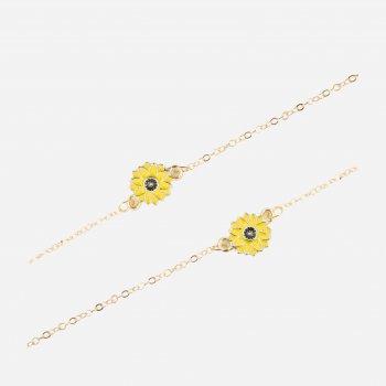 Цепочка для очков SumWin Ц-5433370 (75 см) Золотая