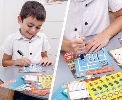 Гра з маркером Vladi Toys 44 Коти 3-5 років українська мова (VT5010-15)