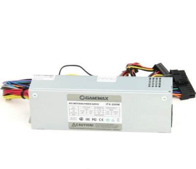 Блок питания GAMEMAX 200W (ITX-200W)