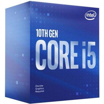 Процесор Intel Core i5 10600 3.3 GHz (12MB, Comet Lake, 65W, S1200) Box (BX8070110600)