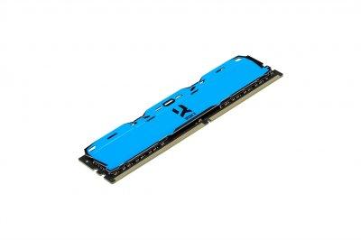 Модуль пам'яті DDR4 16GB/3000 GOODRAM Iridium X Blue (IR-XB3000D464L16/16G)