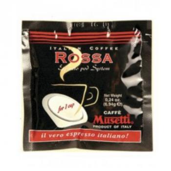 Кофе Musetti Caffe Rossa в монодозах - 25 шт