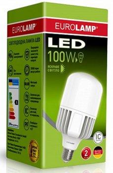 Світлодіодна лампа EUROLAMP 100 Вт E40 5000 K (LED-HP-100405)