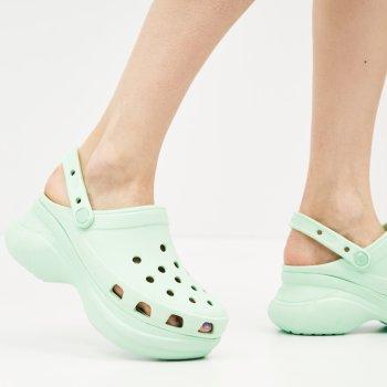 Сабо Crocs Women's Classic Bae Clog 206302-3TI Neo Mint