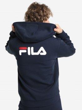 Спортивна кофта Fila 107686-MW Синя з білим