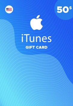 Подарочная карта iTunes Apple / App Store Gift Card 50 usd US-регион