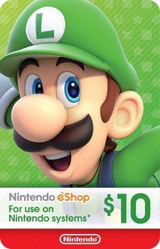 Nintendo eShop Card $10 (USA)