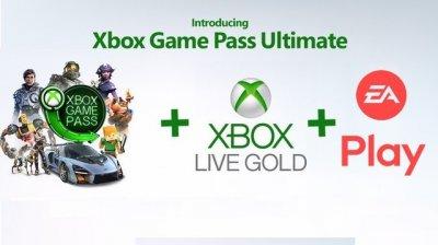 Xbox Game Pass Ultimate 1 месяц + Xbox Live Gold на 12 месяцев Xbox One/Series подписка для всех регионов и стран
