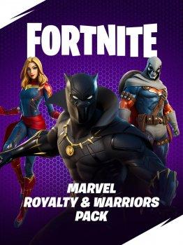 Подарочная карта Fortnite Marvel: Royalty & Warriors Pack «Marvel: короли и воины»