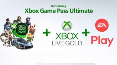 Электронный код (Подписка) Xbox Game Pass Ultimate - 1 месяц Xbox One/Series для всех регионов и стран