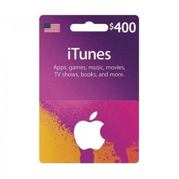 Подарункова карта iTunes Apple / App Store Gift Card 400 usd US-регіон