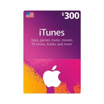 Подарункова карта iTunes Apple / App Store Gift Card 300 usd US-регіон