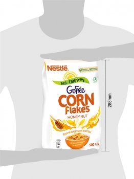 Сухой завтрак Corn Flakes Мед и Орехи 500 г (5900020020369)