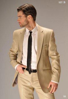 Чоловічий костюм West-Fashion 527 бежевий 176