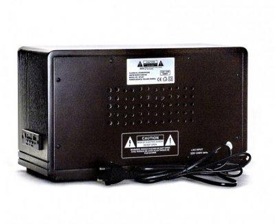 Ретро музичний центр Радіо програвач Daklin Де Голль AM/FM МР3/ USB/ SD дерево горіх