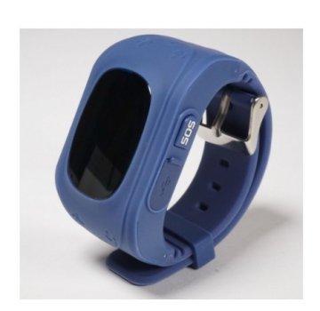 Дитячі смарт годинник Smart Watch Q50 з GPS трекером Синій