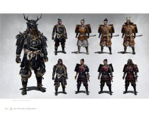 Світ гри Ghost of Tsushima