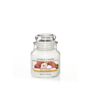 Ароматическая свеча МЯГКОЕ ОДЕЯЛО / Yankee Candle SOFT BLANKET small jar 1205398E