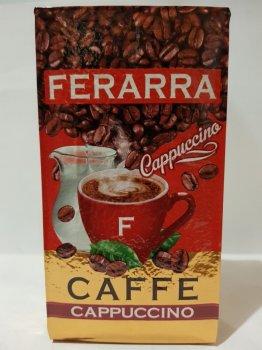 Мелена кава Ferarra Cappuccino з ароматом капучіно 250г