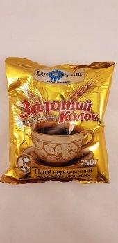 Нерастворимый молотый напиток на основе цикория Золотой Колос Цикоринка Галка 250г