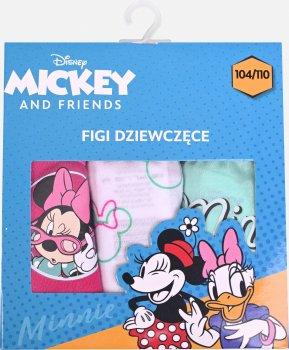Трусы Disney Minnie DISMF523372873-PACK Розовый/Синий/Мятный/Белый