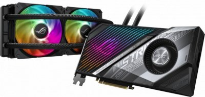 Видеокарта ASUS Radeon RX 6900 XT 16Gb ROG STRIX LC OC GAMING (ROG-STRIX-LC-RX6900XT-O16G-GAMING)