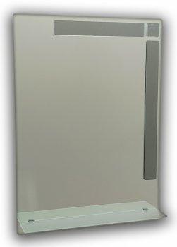 Зеркало прямоугольное, с декором Seria A №81м (687х450х120 мм)