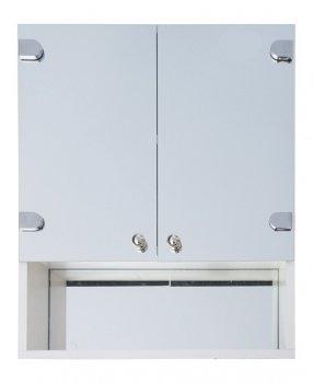 Зеркальный шкаф в ванную Seria A № А03-50 с открытой полкой (600 x 500 x 125)