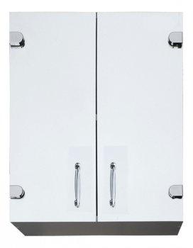 Шкаф в ванную Seria A № А05-55 с прямыми зеркальными фасадами