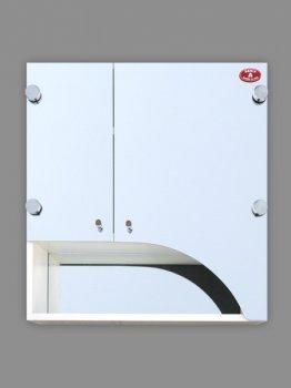 Шкаф зеркальный Seria A фигурный №А06-55 (600 x 550 x 125)
