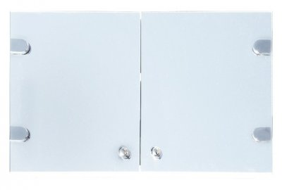 Узкий навесной зеркальный шкаф в ванную Seria A №А13 - 40