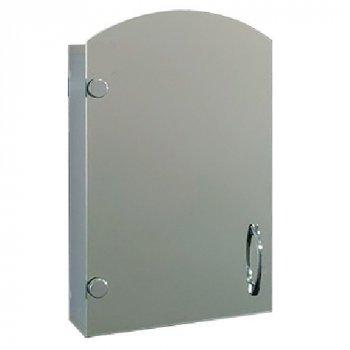"""Зеркальный шкаф с фасадом арка """"Эконом"""" №45 (560 x 350 x 130)"""
