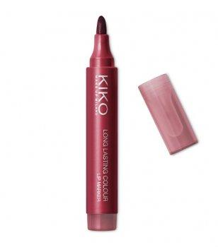 Стойкая помада-маркер KIKO MILANO Long Lasting Colour Lip Marker 106 Rosso Mela
