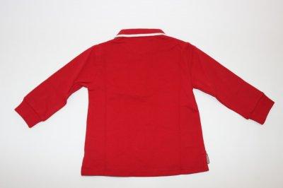 Детское поло AYGEY Италия красного цвета, KNJF7318PO