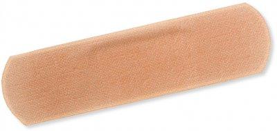Пластырь бактерицидный Волес 2.5х7.6 см на хлопковой основе №100 (502852)
