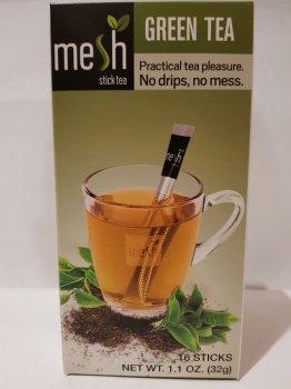 Чай зеленый Mesh в стиках 16шт по 2г