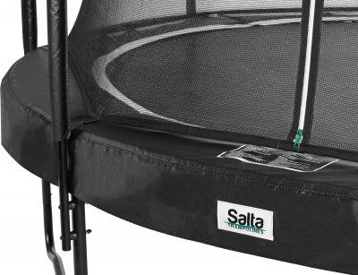 Батут Salta Premium Black Edition COMBO круглий 396 см (628SA)