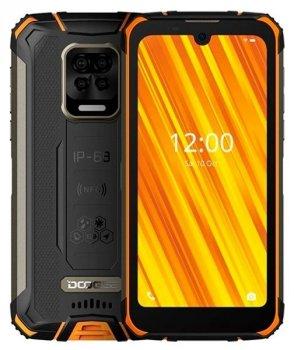 Защищенный смартфон Doogee S59 pro ip68 4/128gb black-orange